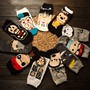 Shoespie Men's Cute Socks including six pairs
