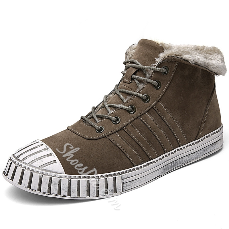 Shoespie Lace-Up Sneakers Casual Men's Boots