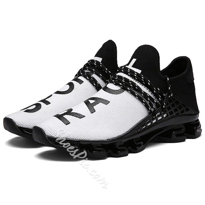 Shoespie Fashion Men Shoes Lace-Up Sneakers