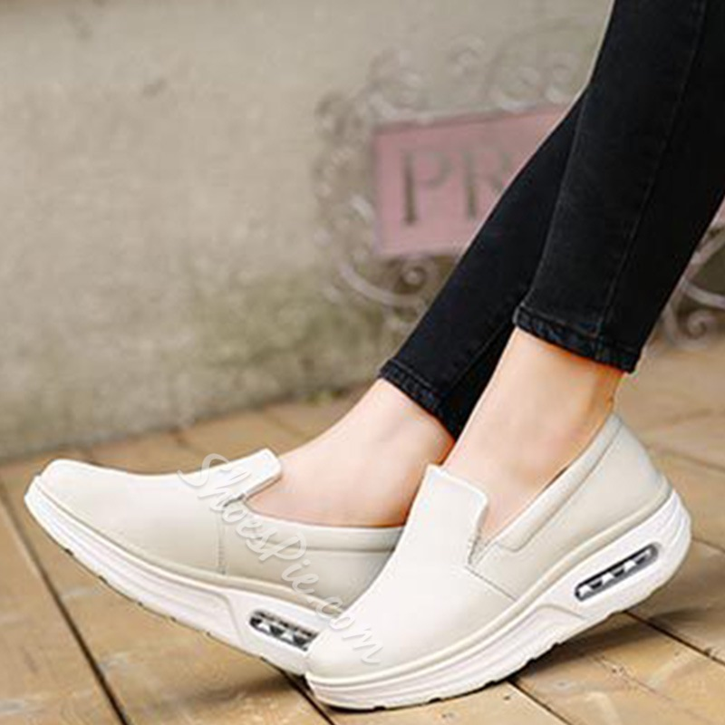 Shoespie Slip On Platform Casual Shoes