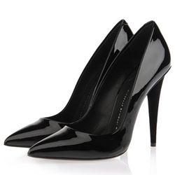 Shoespie Chic Banquet Glossy Court Shoes