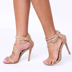 Shoespie Ankle Wrap Dress Sandals