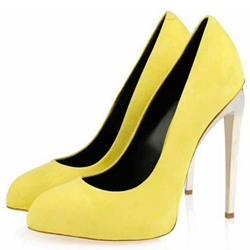 Shoespie Chic Solid Color Sky High Stiletto Heels