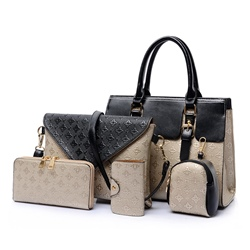 Shoespie Contrast Color Versatile Bag Sets