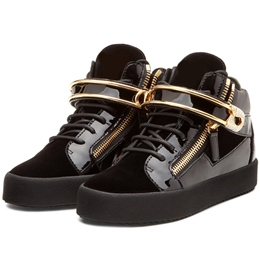 Shoespie Paper Clip Decorated Fashion Sneakers
