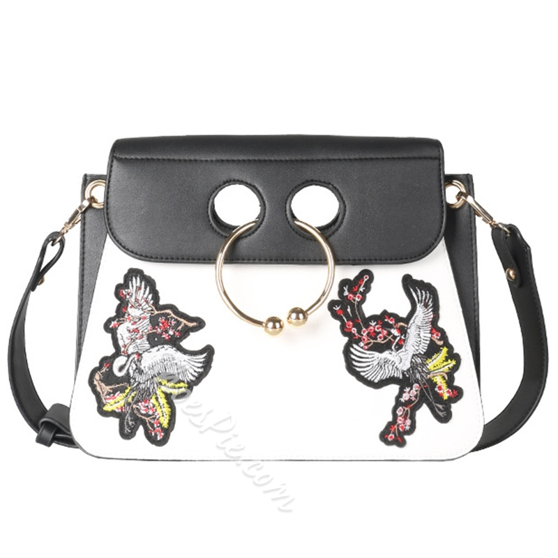 Shoespie Chic Chinese Embroidered Envelope Bag