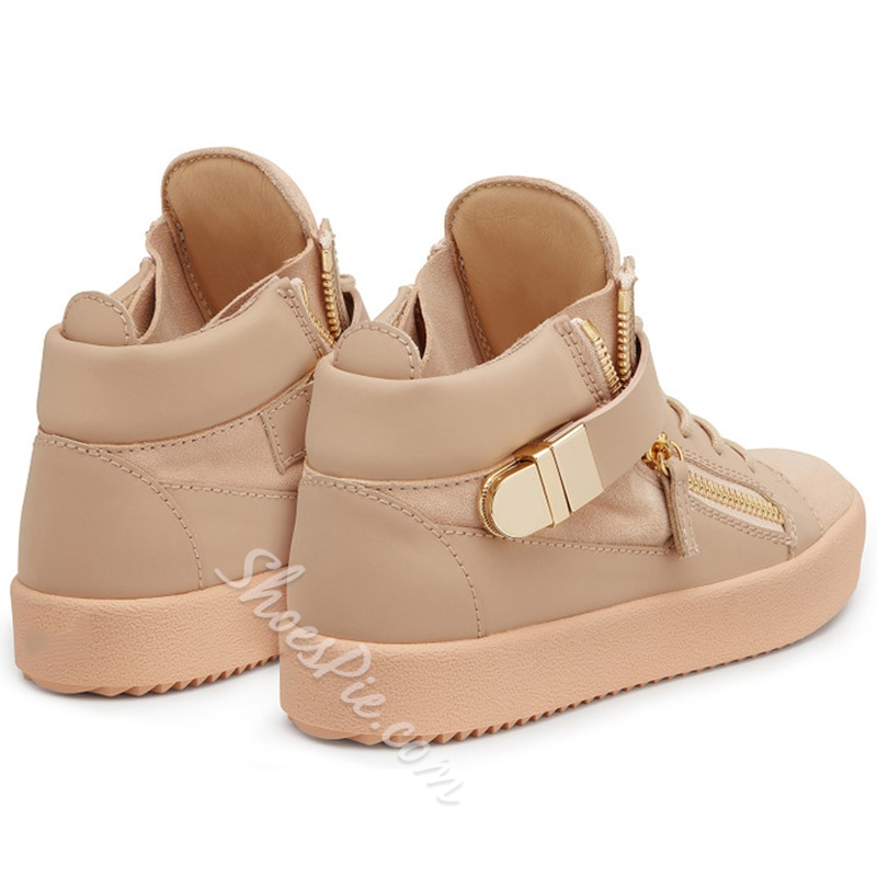 Shoespie Incarnadine Pink Sneakers