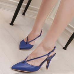 Shoespie Spring New Slingback Kitten Heels