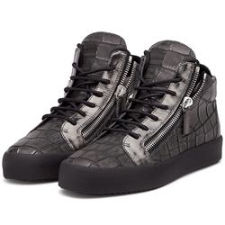 Shoespie Crocodile Grain Men's Fashion Sneakers