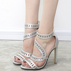 Shoespie Space Age Dress Sandals