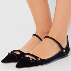 Shoespie Fashion Pointed Toe Loafers