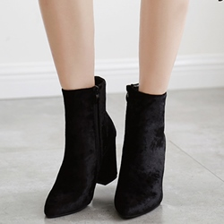 Shoespie Chic Chunky Heel Fashion Boots