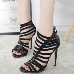 Shoespie Stylish Cage Sandals