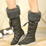 Shoespie Warm in Cold Weather Knee High Sport Snow Boots