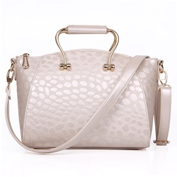 Shoespie Elegant Beige Large Handbag
