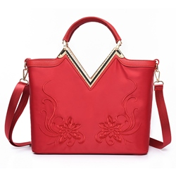 Shoespie Chic Multi Color Banquet Handbag