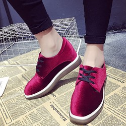 Shoespie Violet Lace Up Sneakers
