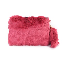 Shoespie Cute Furry Clutch Bag