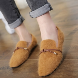 Shoespie Casual Round Toe Knot Loafers