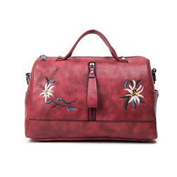 Shoespie Cute & Chic Floral Embroidered Handbag