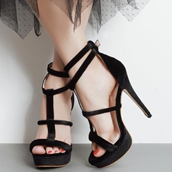 Shoespie Violet Multi Color Strappy Sandals