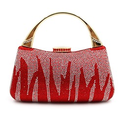 Shoespie Vintage Jewelled Clutch Bag
