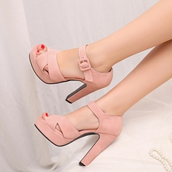 Shoespie Cute Pink Sandals