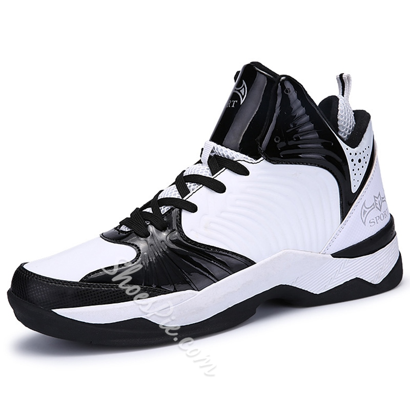 Shoespie Color Block Men's Basket Ball Shoes