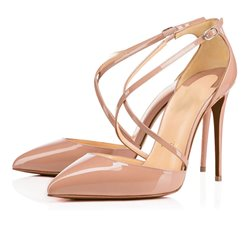 Shoespie Elegant Cross Strap Stiletto Heels