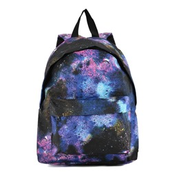 Shoespie Night Star Sky Print Backpack
