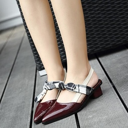 Shoespie Chic Comfortable Pointed Toe Slingback Loafers