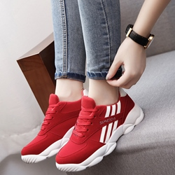 Shoespie Stripes Athletic Shoes