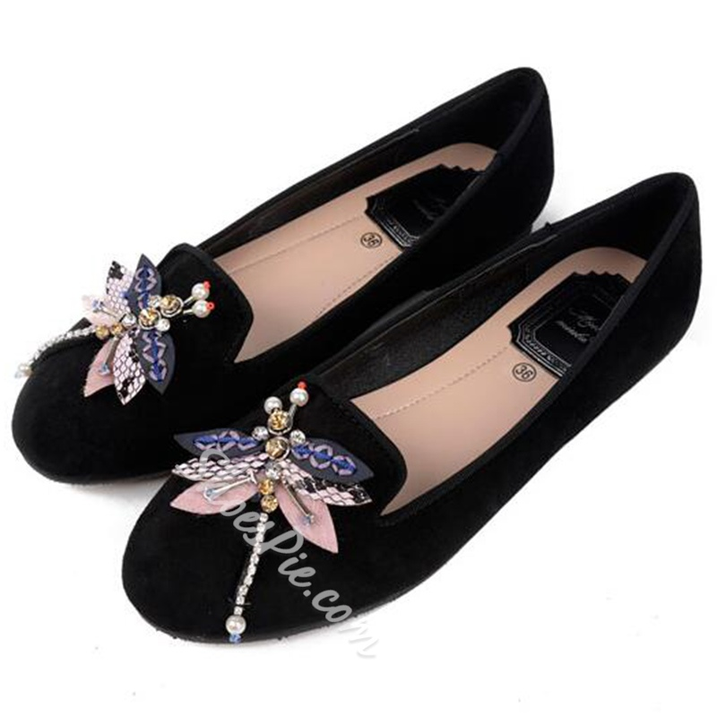Shoespie Cute Animal Appliqued Comfortable Loafers