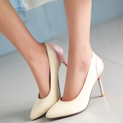 Shoespie Comfortable Contrast Color Court Shoes