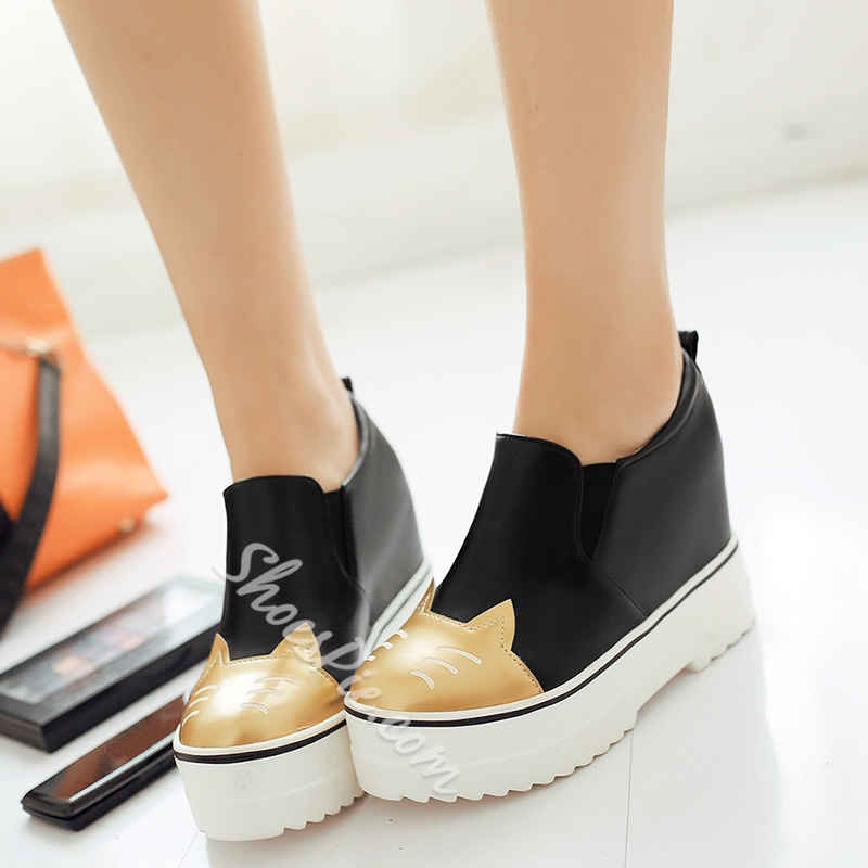 Shoespie Kittens Flip On Elevated Casual Shoes