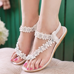 Shoespie Flora Applicure Flat Sandals