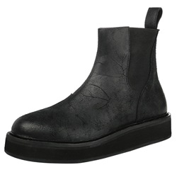 Shoespie Black Men's Casual Boots