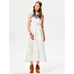 V-Neck Spaghetti Strap Tassel Maxi Dress