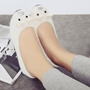 Shoespie Cute Cat Shape Loafers