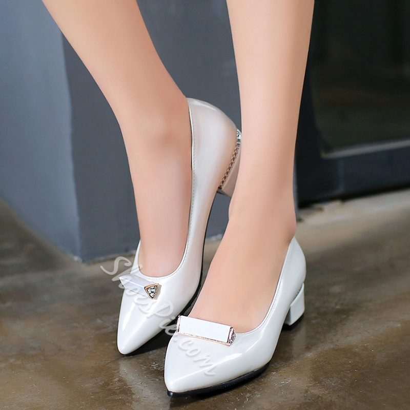 Shoespie Lolita Style Low Heels