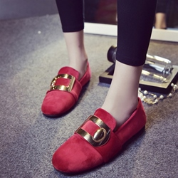 Shoespie Classy Buckle Loafers