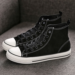 Shoespie PU Threading Sneakers