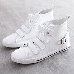 Shoespie Threading Velcro Sneakers