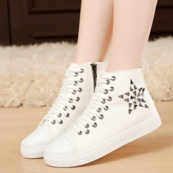 Shoespie Unique Zipped Canvas Shoes