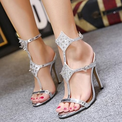 Shoespie Spikes Dress Sandals