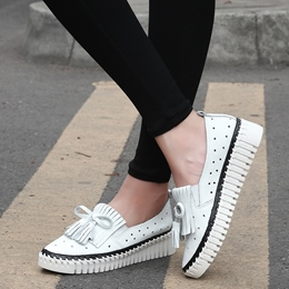 Shoespie Comfortable Fringe Loafers