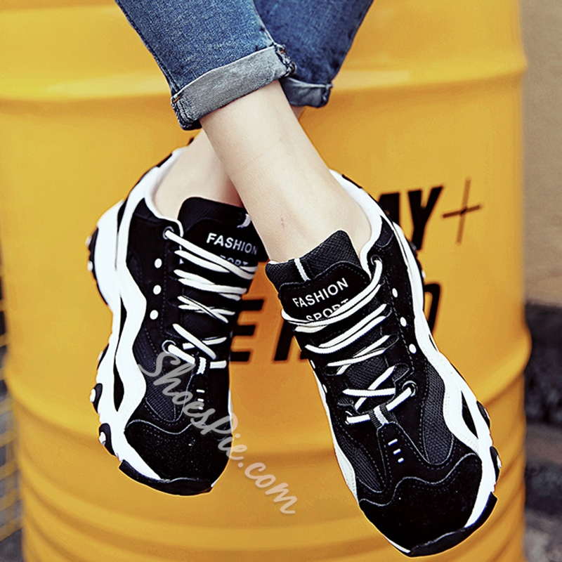 Shoespie Multi Color G Letter Sneakers