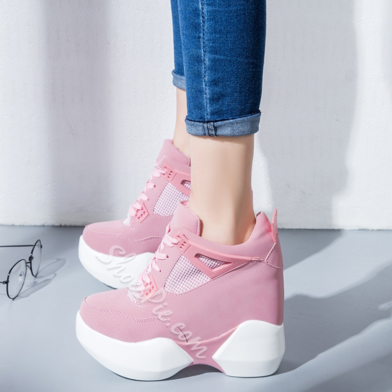 Shoespie Cute Thick Outsole Sneakers