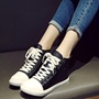Shoespie PU Lace Up Sneakers