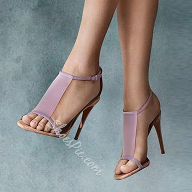 Shoespie Candy Color Sexy Dress Sandals